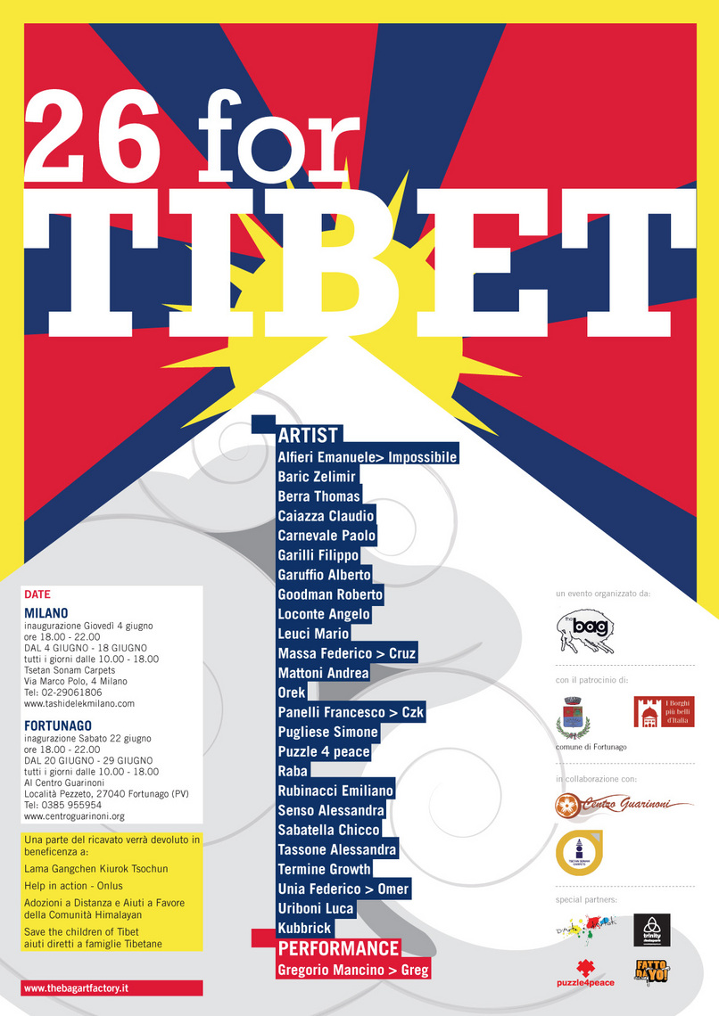 26 For The Tibet