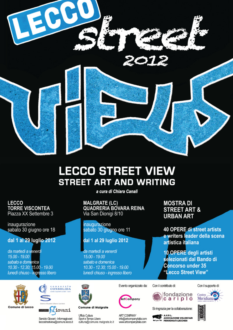 Lecco Street-View 2012